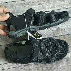 Champion Shoes - C9 Champion Kids Boys Black Hyde Hiking Sandals
